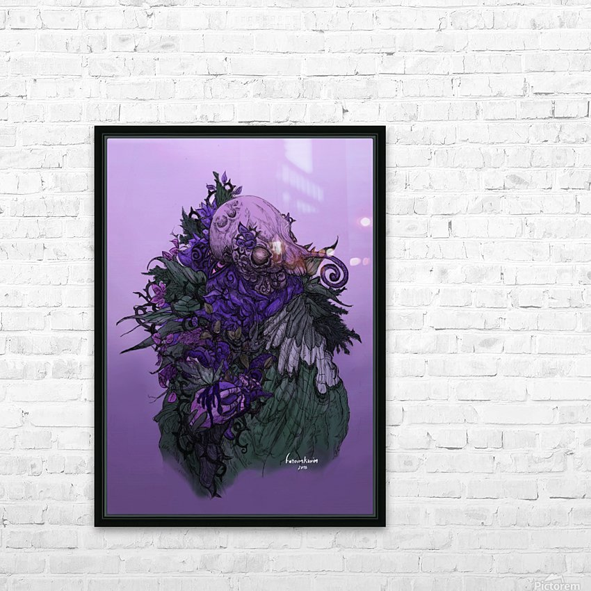 When memories are dying in a dream  HD Sublimation Metal print with Decorating Float Frame (BOX)