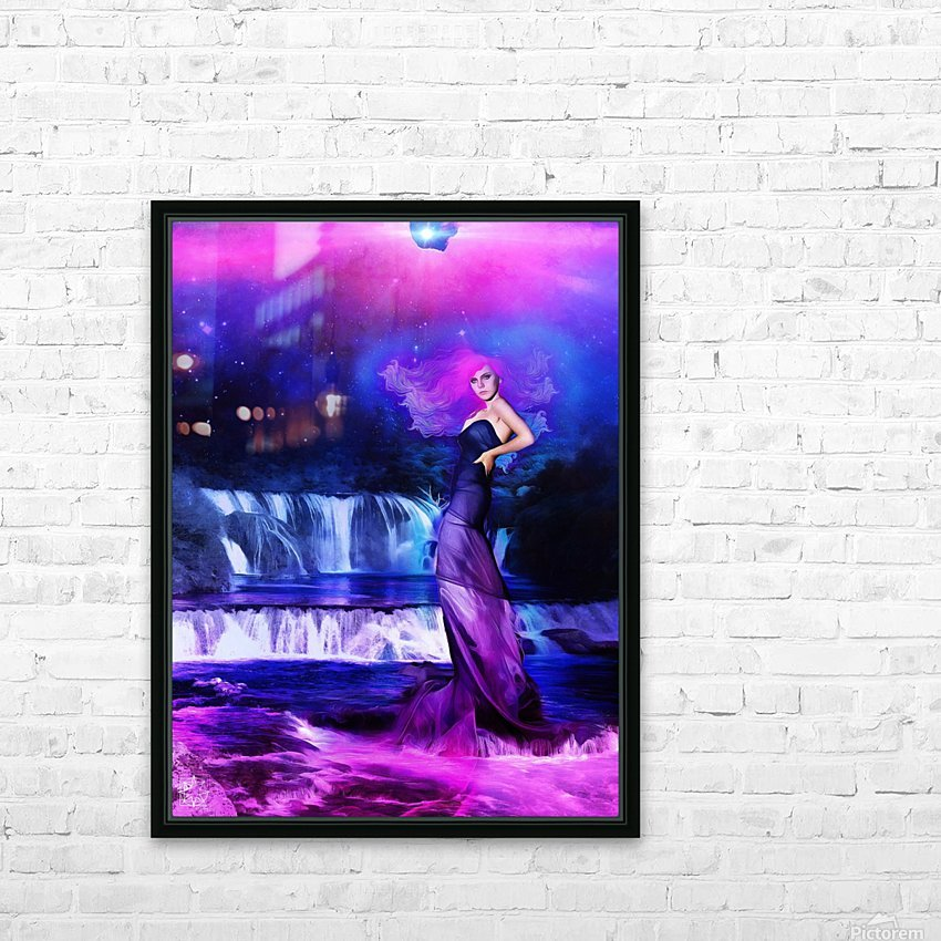 Clear Waters HD Sublimation Metal print with Decorating Float Frame (BOX)