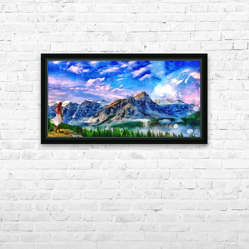 Into the Wild HD Sublimation Metal print with Decorating Float Frame (BOX)