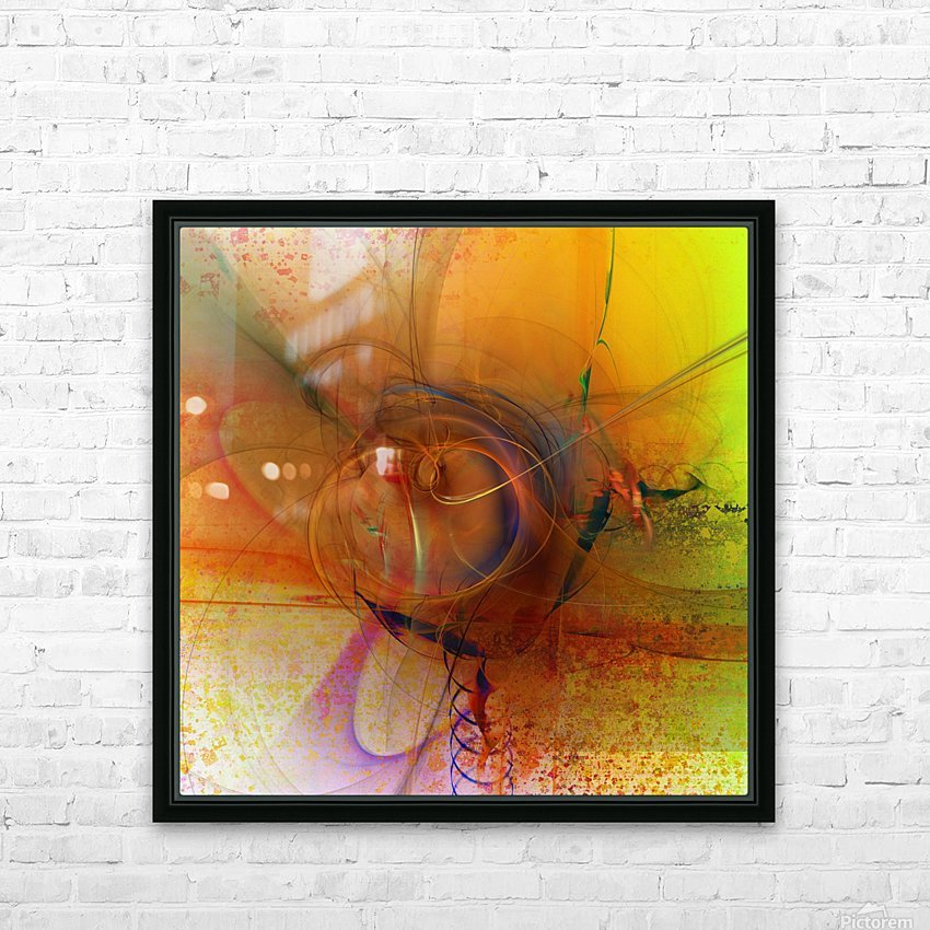 Angoiema HD Sublimation Metal print with Decorating Float Frame (BOX)