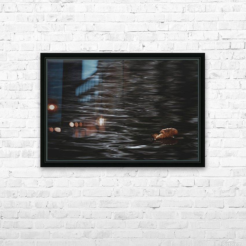 Aqueous Autumn  HD Sublimation Metal print with Decorating Float Frame (BOX)