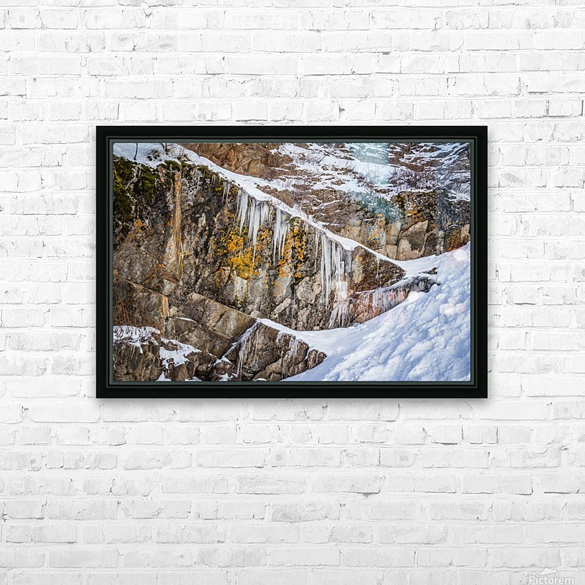 On the Rocks HD Sublimation Metal print with Decorating Float Frame (BOX)