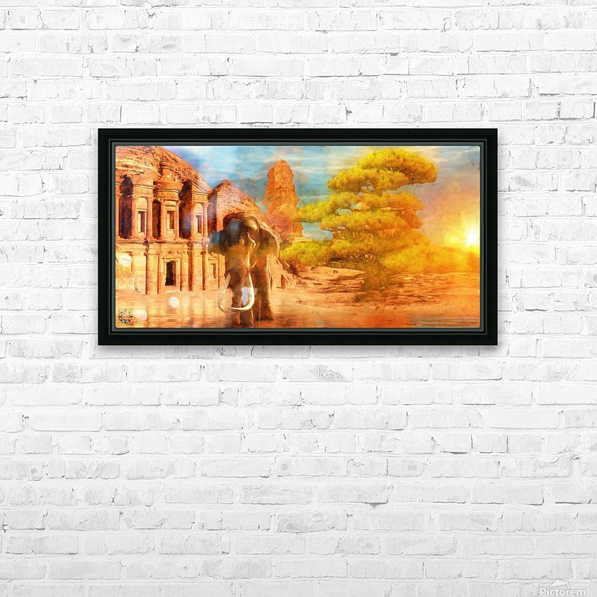 Ancient Origins HD Sublimation Metal print with Decorating Float Frame (BOX)