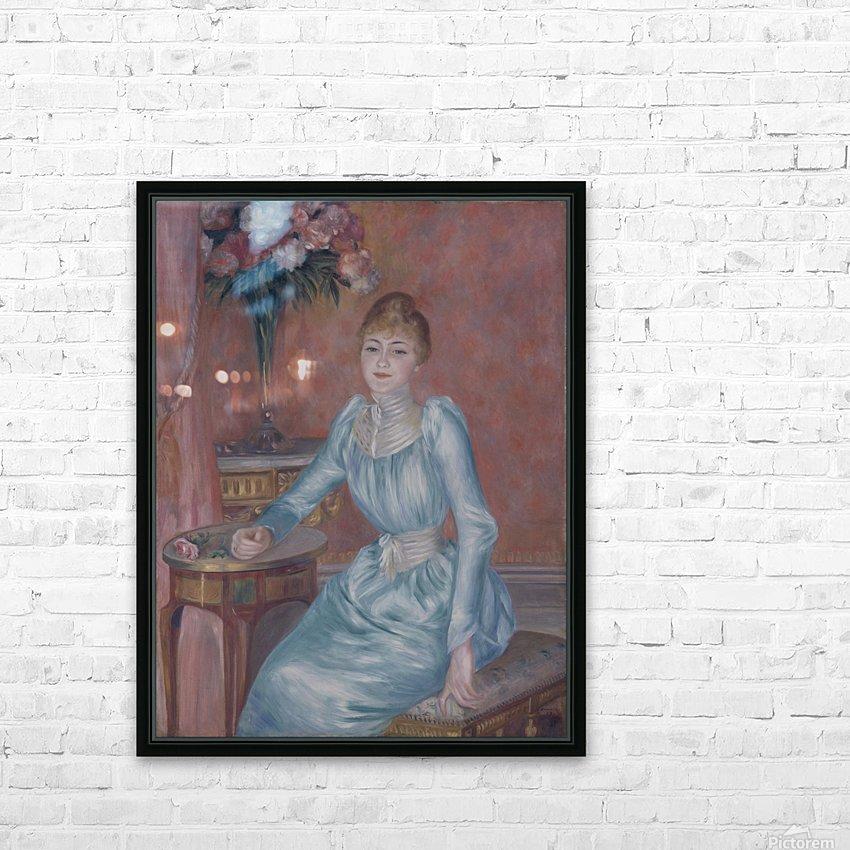 Portrait of Madame de Bonnieres HD Sublimation Metal print with Decorating Float Frame (BOX)