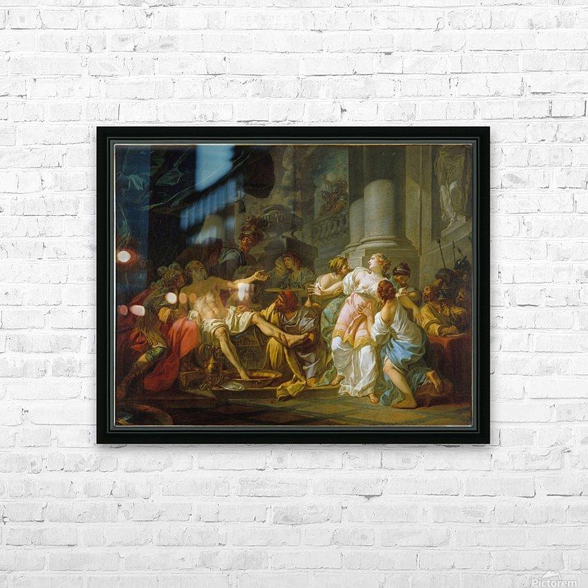 La Mort de Seneque HD Sublimation Metal print with Decorating Float Frame (BOX)