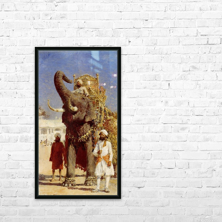 The Rajahs Elephant HD Sublimation Metal print with Decorating Float Frame (BOX)