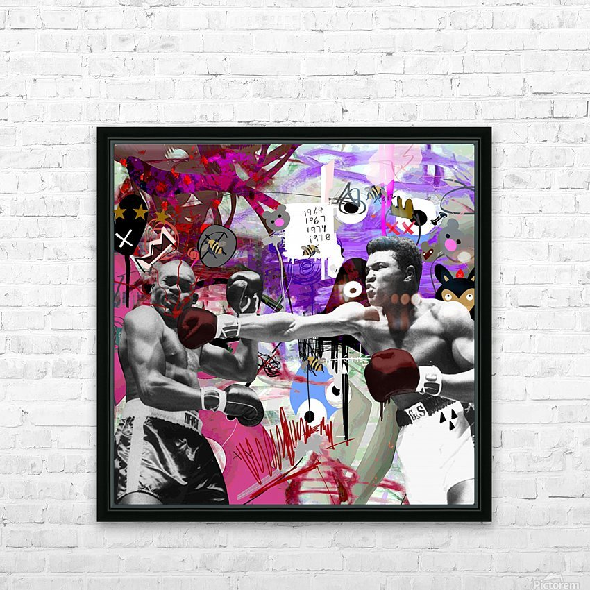 Connect HD Sublimation Metal print with Decorating Float Frame (BOX)