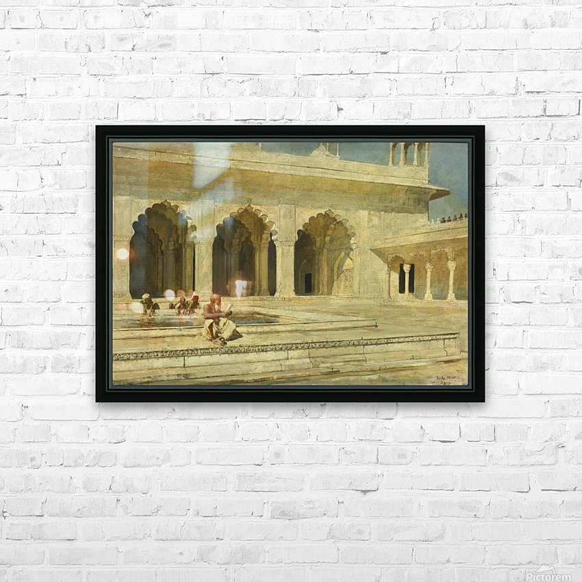 Bath inside palace HD Sublimation Metal print with Decorating Float Frame (BOX)