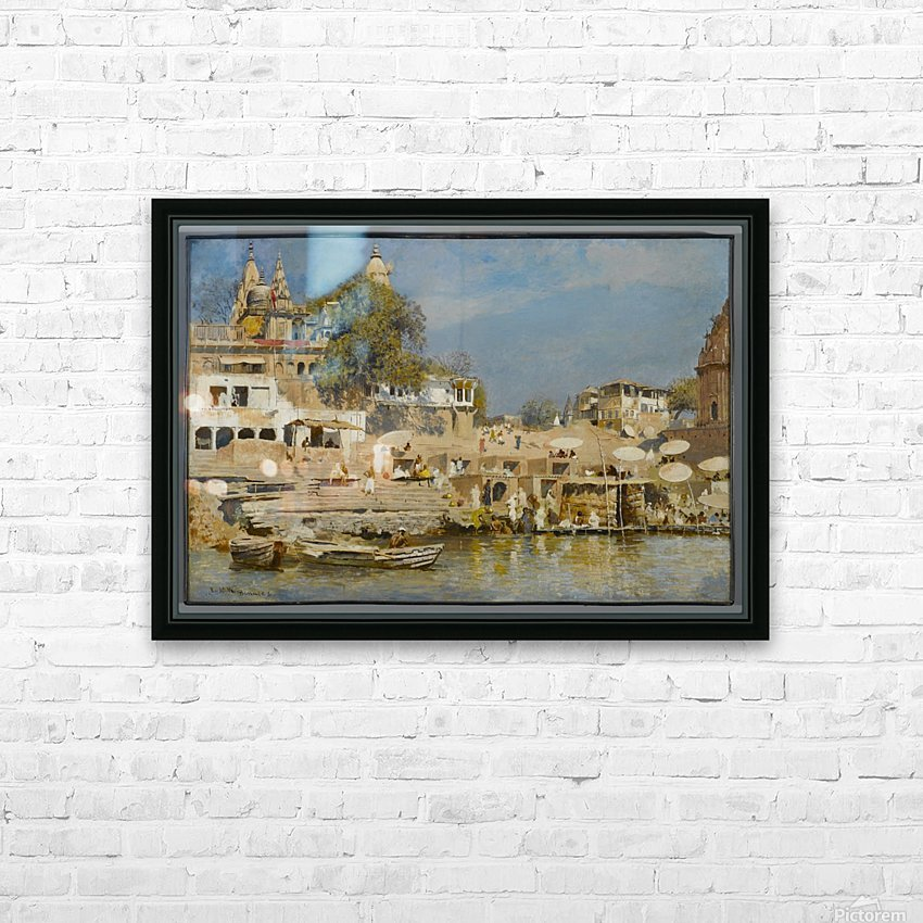 Indian bath HD Sublimation Metal print with Decorating Float Frame (BOX)