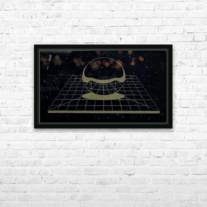 Simple Reality HD Sublimation Metal print with Decorating Float Frame (BOX)