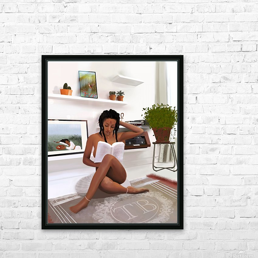 Self Love HD Sublimation Metal print with Decorating Float Frame (BOX)