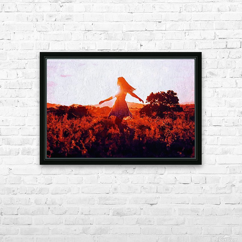 LaBelle HD Sublimation Metal print with Decorating Float Frame (BOX)