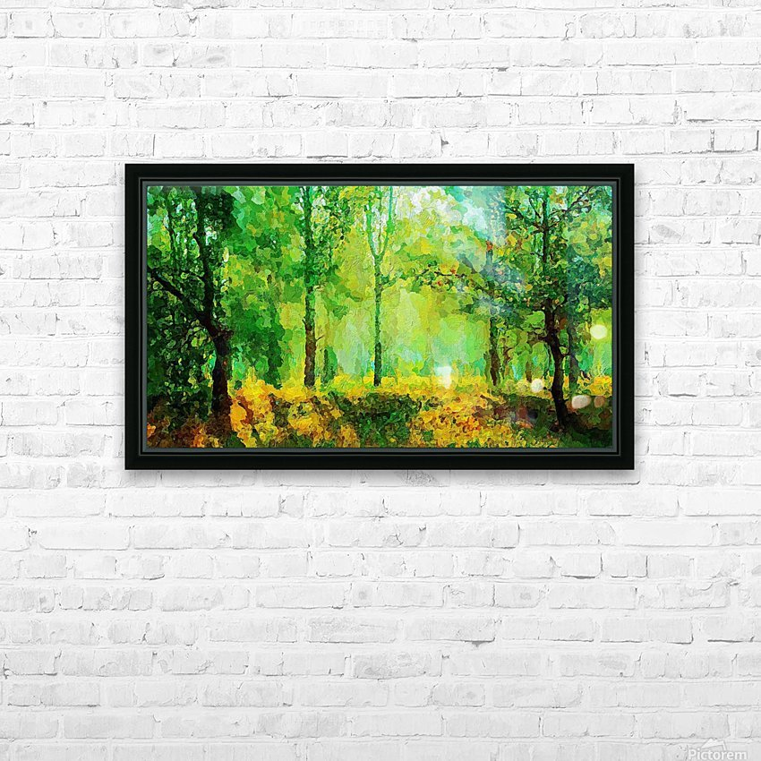 Welcome to the Jungle HD Sublimation Metal print with Decorating Float Frame (BOX)