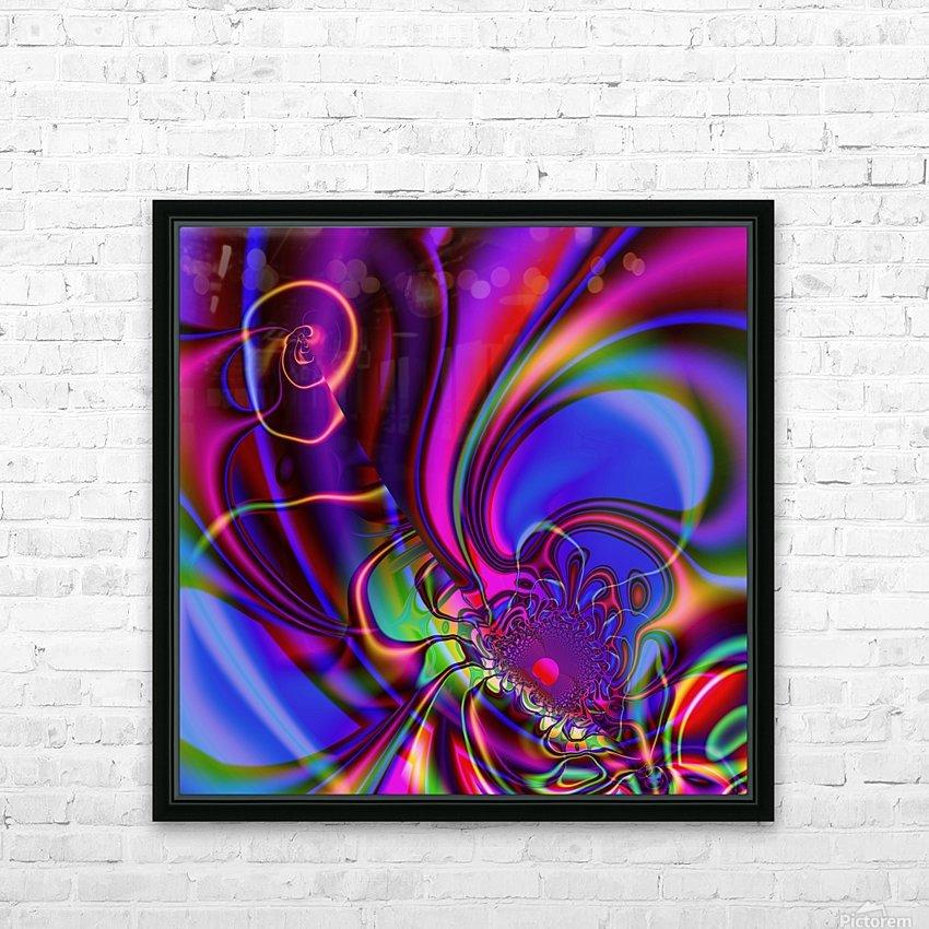 Hasta_El_Fuego_1 HD Sublimation Metal print with Decorating Float Frame (BOX)