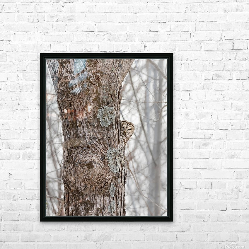 Peekaboo HD Sublimation Metal print with Decorating Float Frame (BOX)