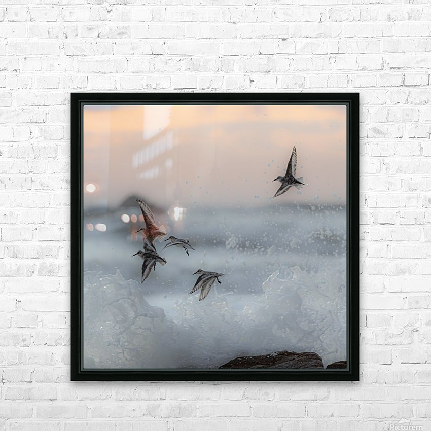 Thriving in chaos. HD Sublimation Metal print with Decorating Float Frame (BOX)