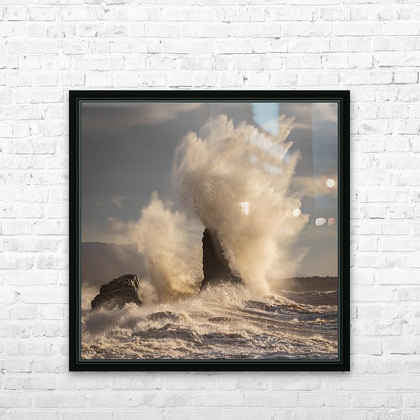 Storm at Presquile HD Sublimation Metal print with Decorating Float Frame (BOX)