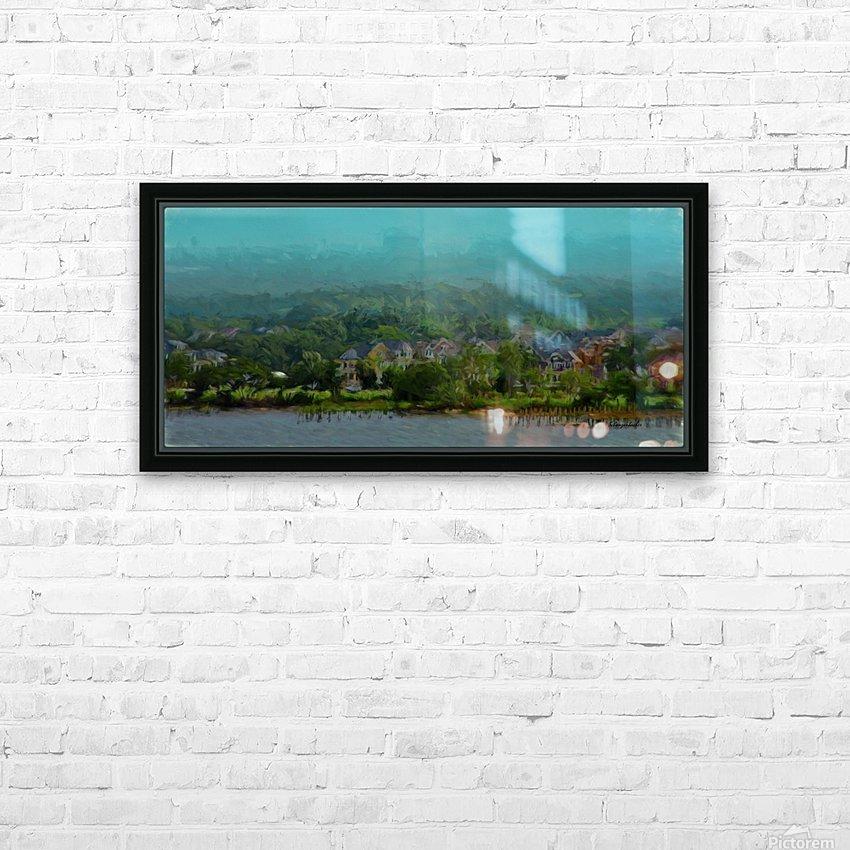 South Carolina Bay  HD Sublimation Metal print with Decorating Float Frame (BOX)