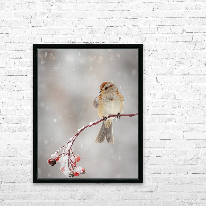 Subtle beauty HD Sublimation Metal print with Decorating Float Frame (BOX)