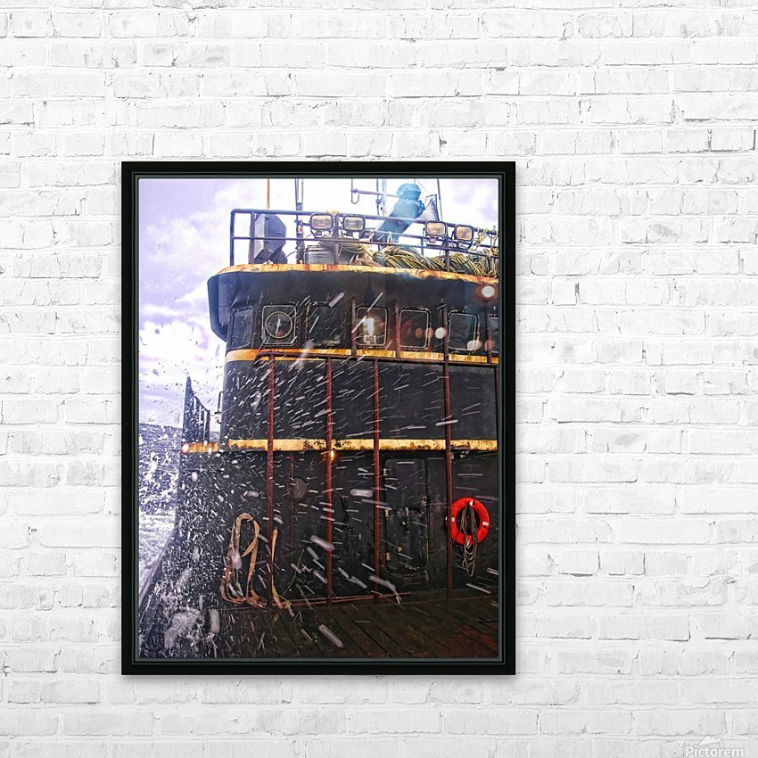 Eye of the Storm HD Sublimation Metal print with Decorating Float Frame (BOX)