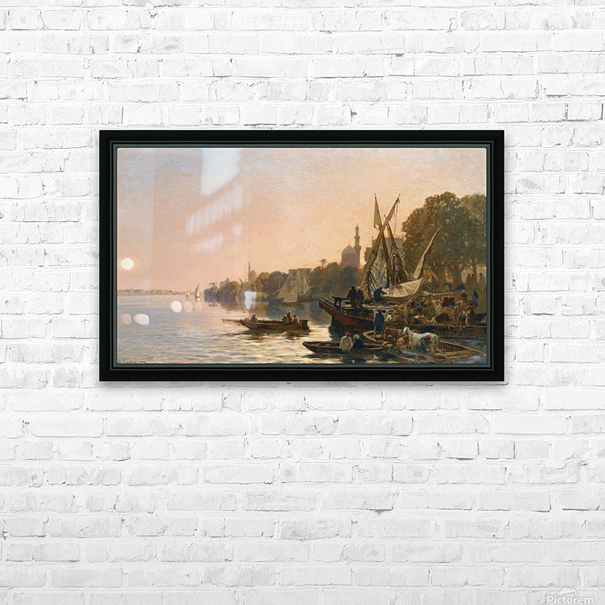 Oriental shipyard HD Sublimation Metal print with Decorating Float Frame (BOX)