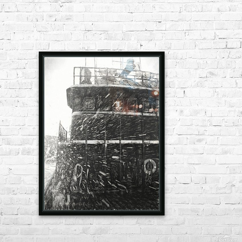 In the Storm HD Sublimation Metal print with Decorating Float Frame (BOX)