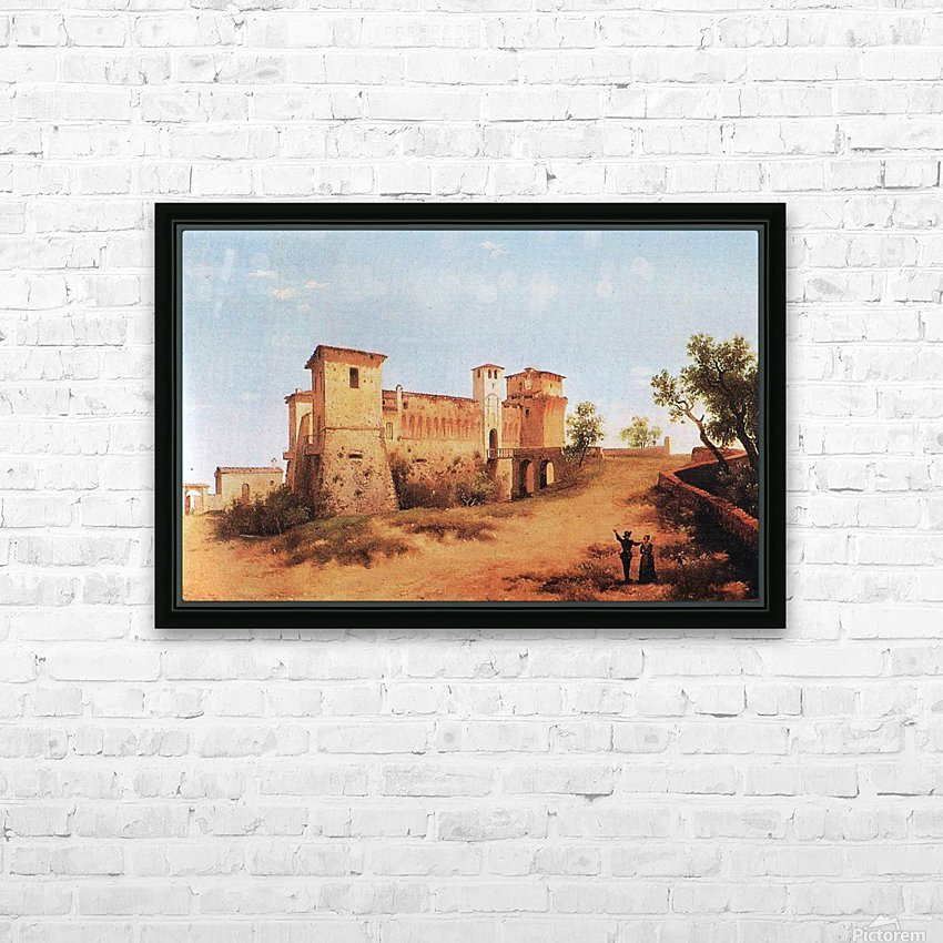 Castello di Felino HD Sublimation Metal print with Decorating Float Frame (BOX)