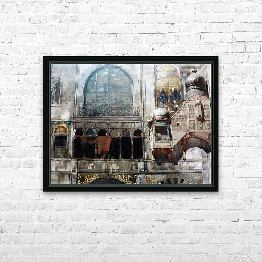 Influences HD Sublimation Metal print with Decorating Float Frame (BOX)