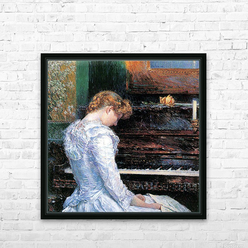 The Sonata by Hassam HD Sublimation Metal print with Decorating Float Frame (BOX)