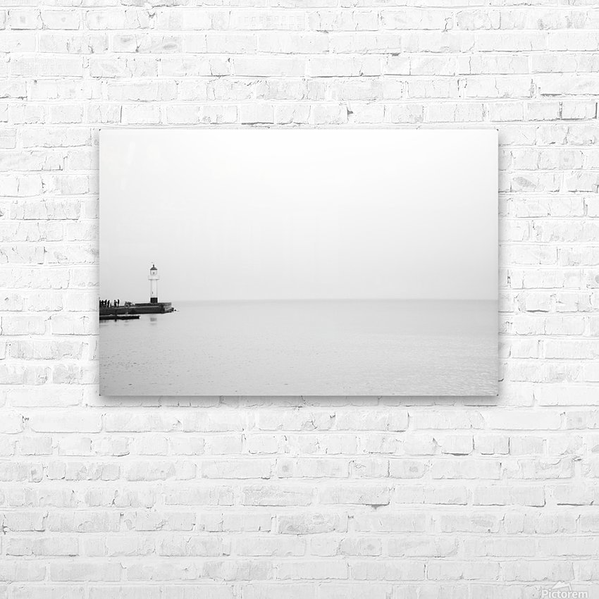Minimalistic lighthouse 2 HD Sublimation Metal print with Decorating Float Frame (BOX)