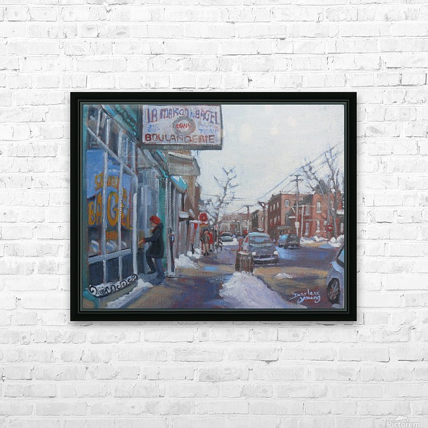 St Viateur HD Sublimation Metal print with Decorating Float Frame (BOX)