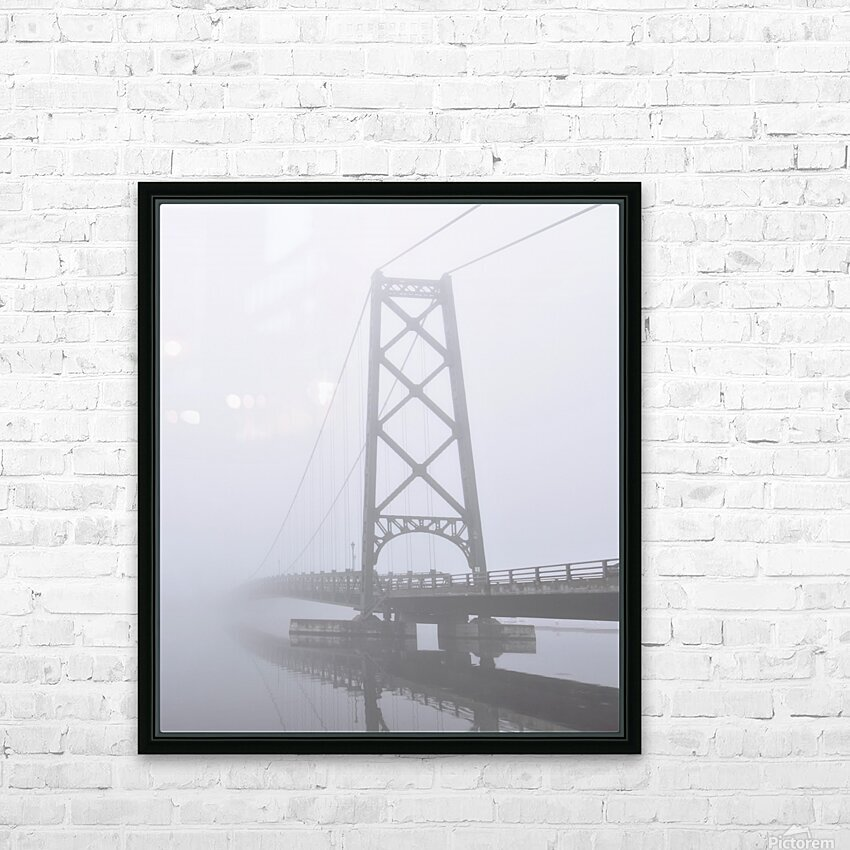 Mysterieux HD Sublimation Metal print with Decorating Float Frame (BOX)