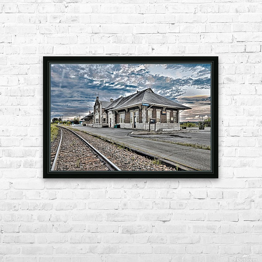 Gare HD Sublimation Metal print with Decorating Float Frame (BOX)