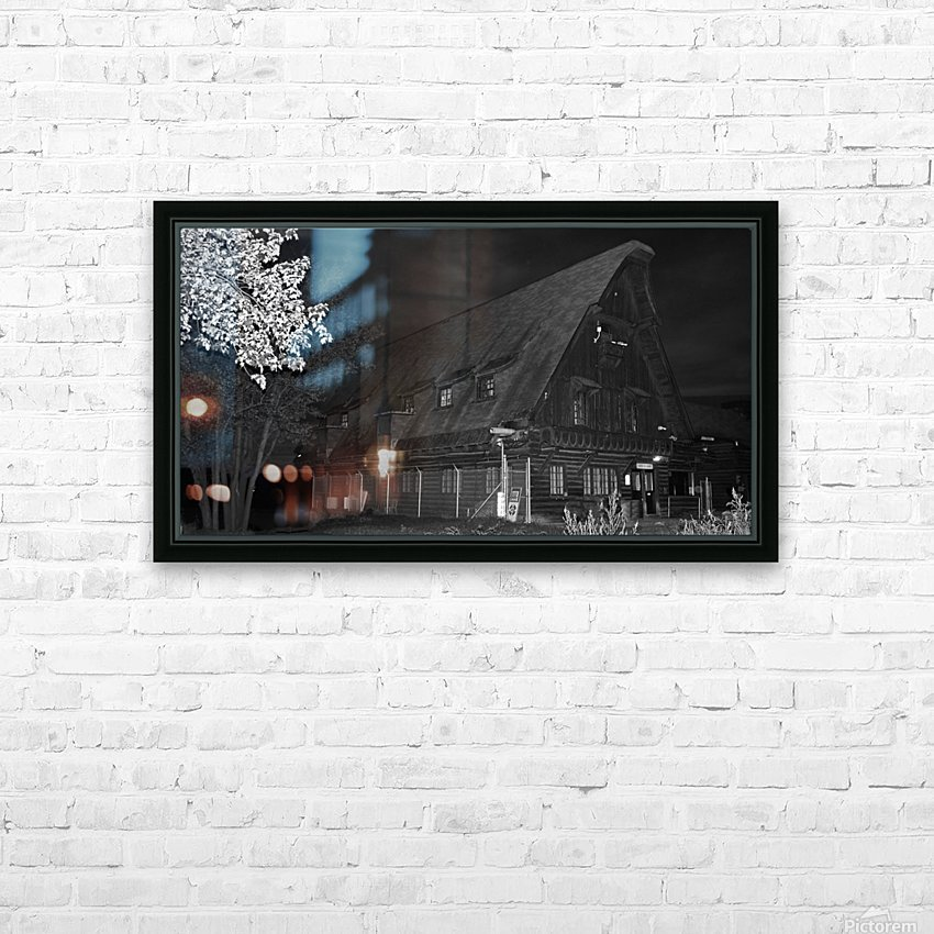 Poste daccueil HD Sublimation Metal print with Decorating Float Frame (BOX)