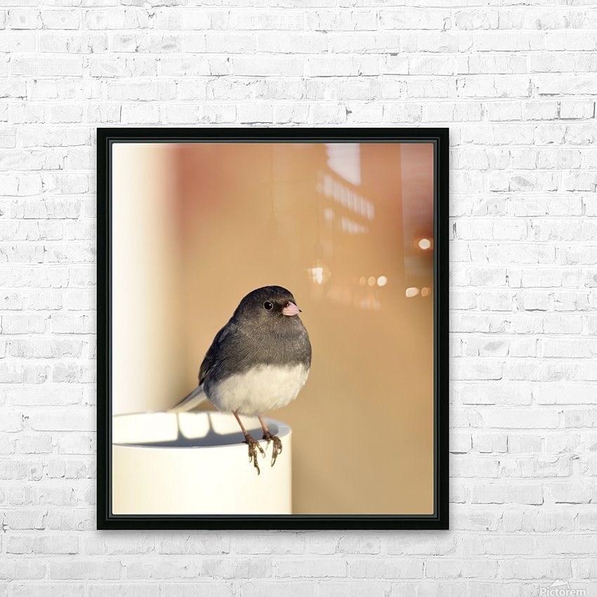 Pause soleil HD Sublimation Metal print with Decorating Float Frame (BOX)