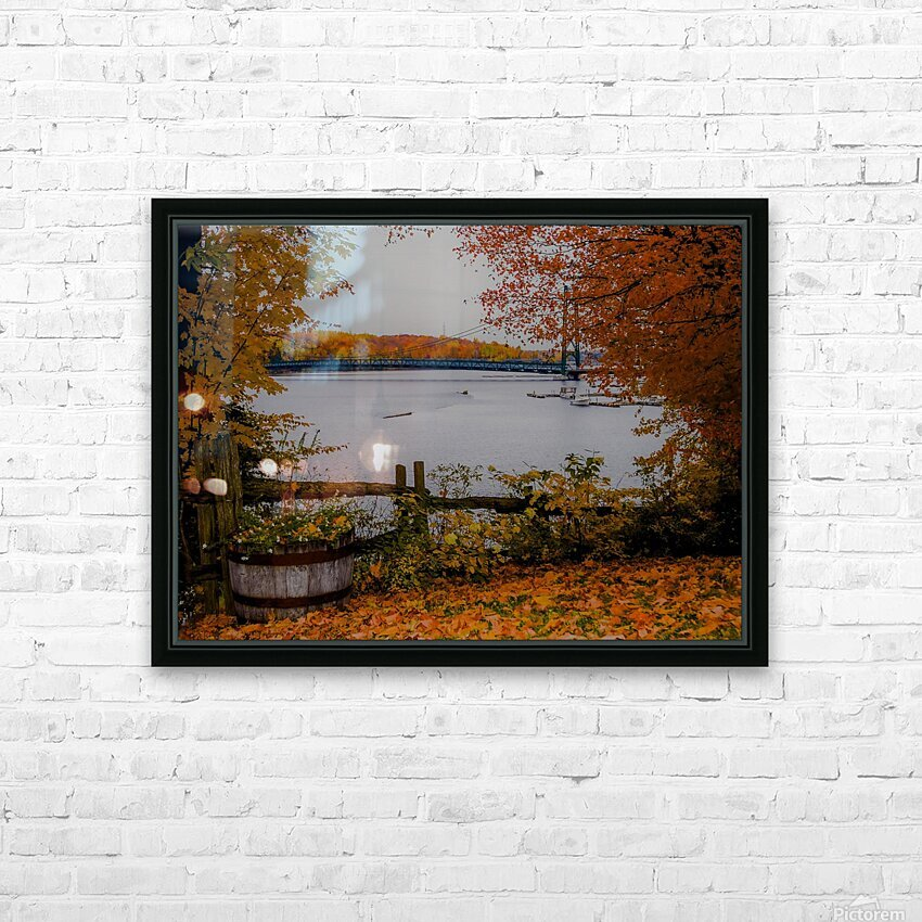 Legende dautomne HD Sublimation Metal print with Decorating Float Frame (BOX)