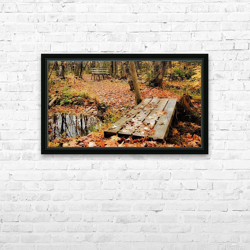 Passage oblige. HD Sublimation Metal print with Decorating Float Frame (BOX)