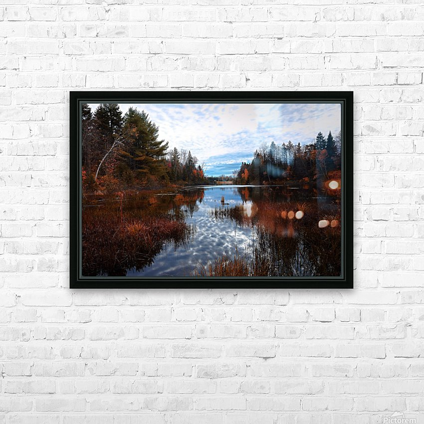 Reflet HD Sublimation Metal print with Decorating Float Frame (BOX)