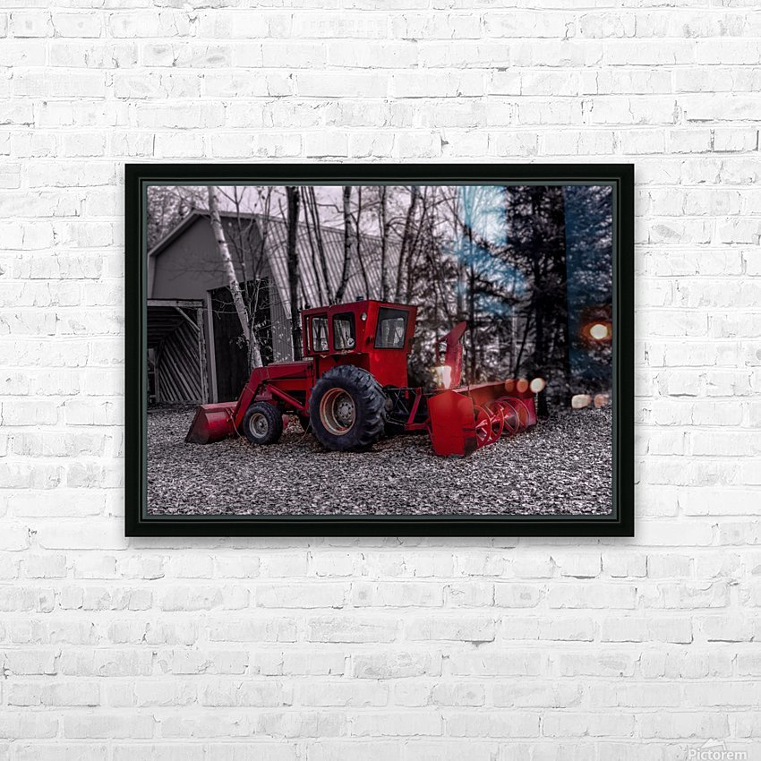 Contraste HD Sublimation Metal print with Decorating Float Frame (BOX)