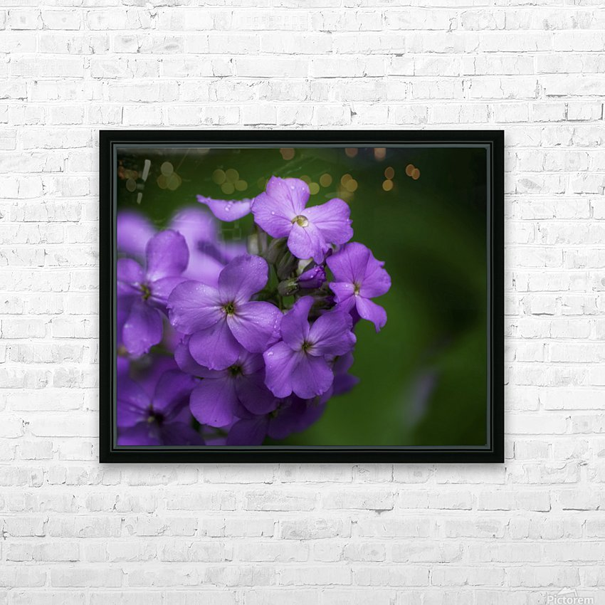 Magenta HD Sublimation Metal print with Decorating Float Frame (BOX)