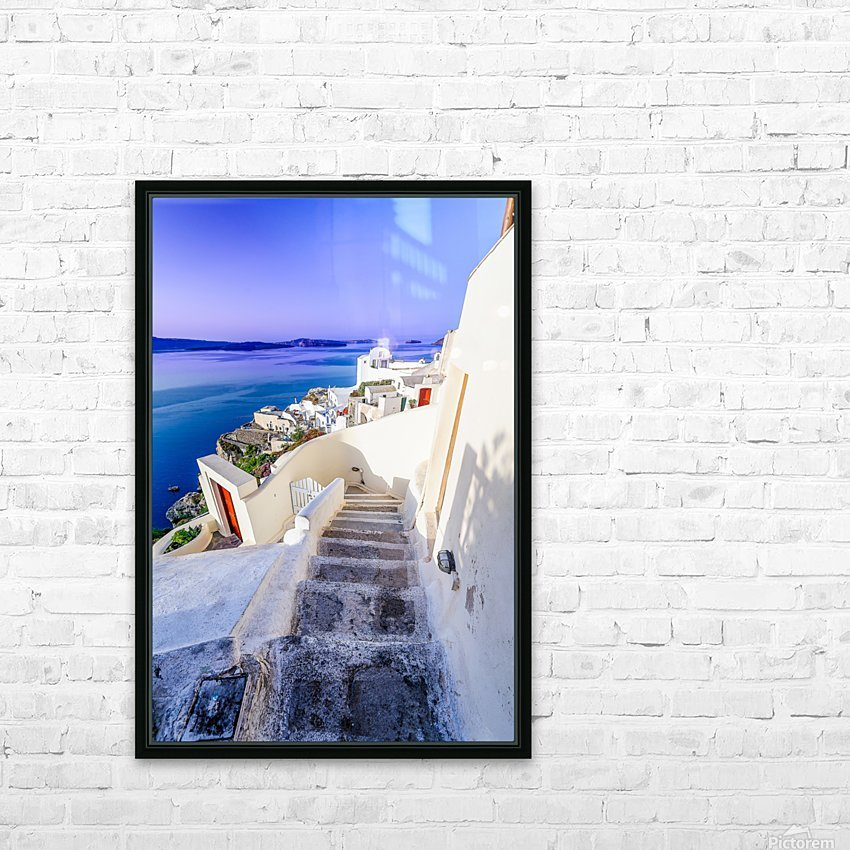 _TEL4404 Edit HD Sublimation Metal print with Decorating Float Frame (BOX)