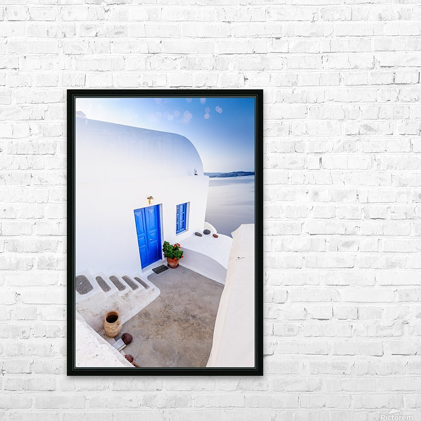 _TEL4429 HD Sublimation Metal print with Decorating Float Frame (BOX)