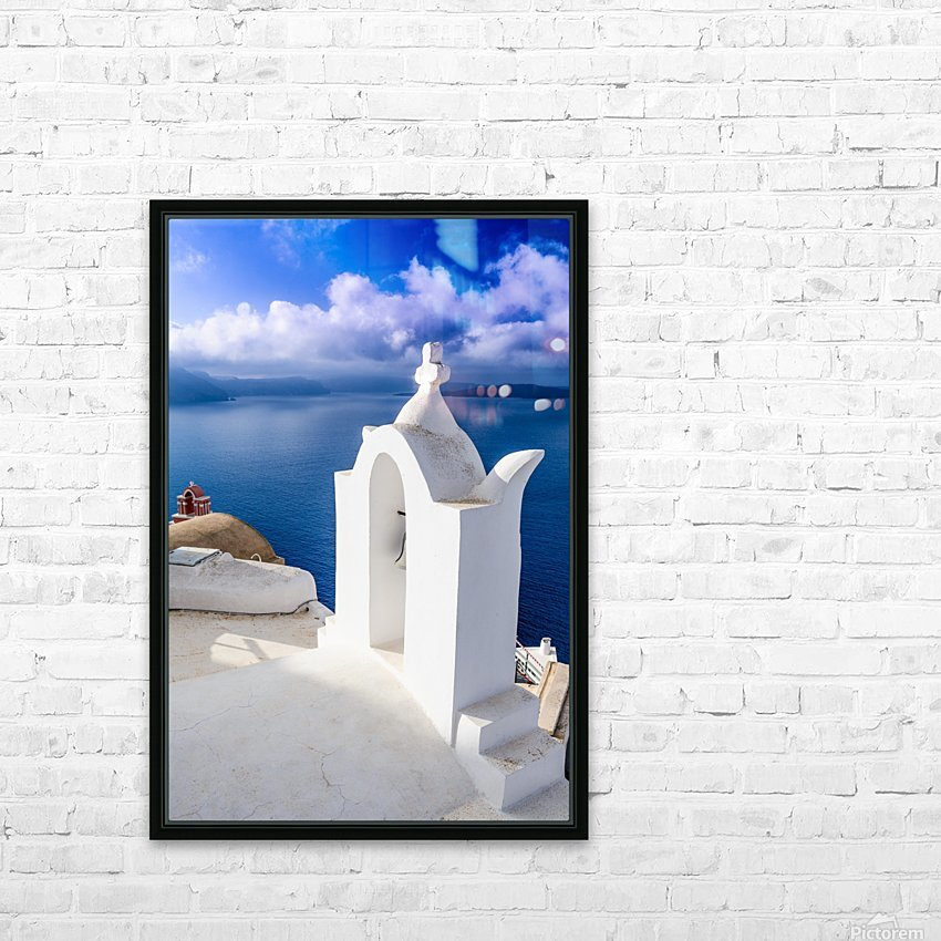 _TEL4691 Edit HD Sublimation Metal print with Decorating Float Frame (BOX)