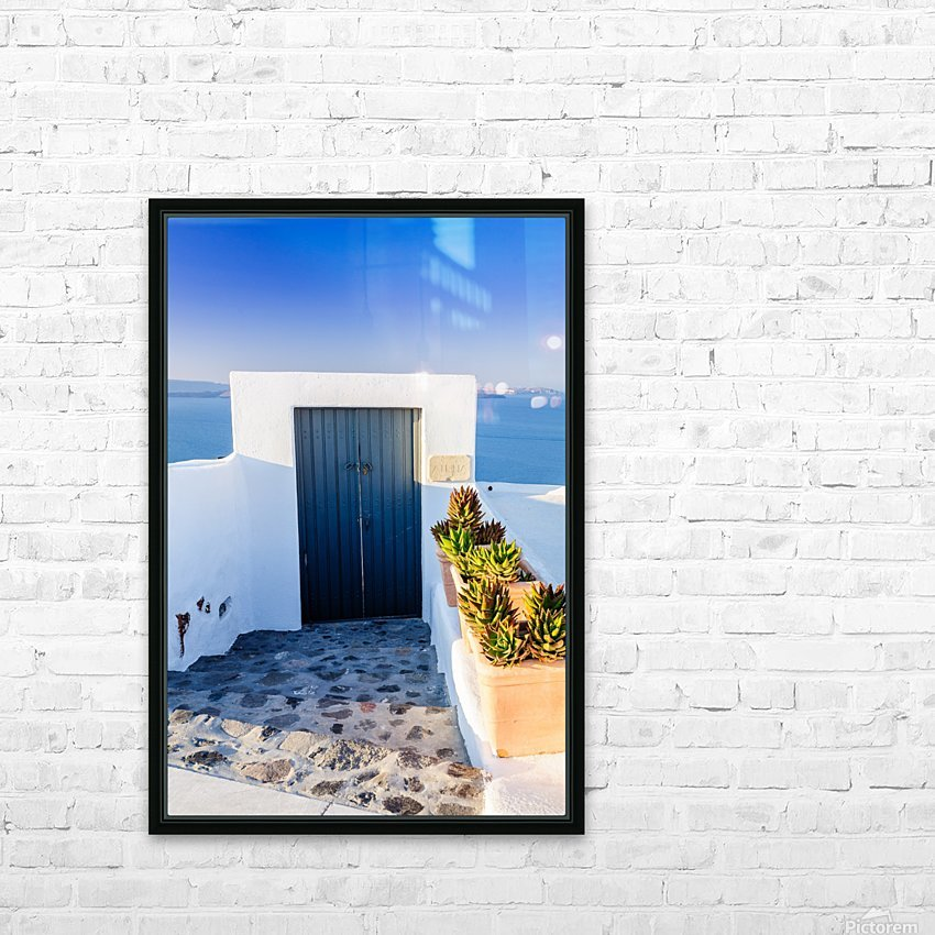 _TEL4997 HD Sublimation Metal print with Decorating Float Frame (BOX)