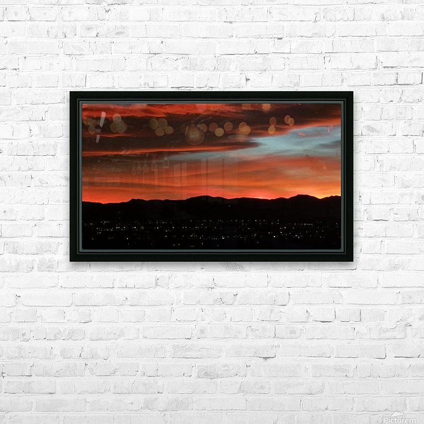 SkyFire HD Sublimation Metal print with Decorating Float Frame (BOX)