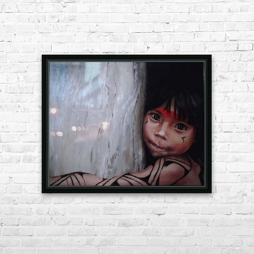 Mission Asheninka HD Sublimation Metal print with Decorating Float Frame (BOX)