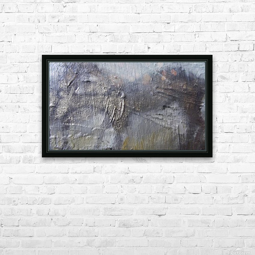 Abstract 2 HD Sublimation Metal print with Decorating Float Frame (BOX)