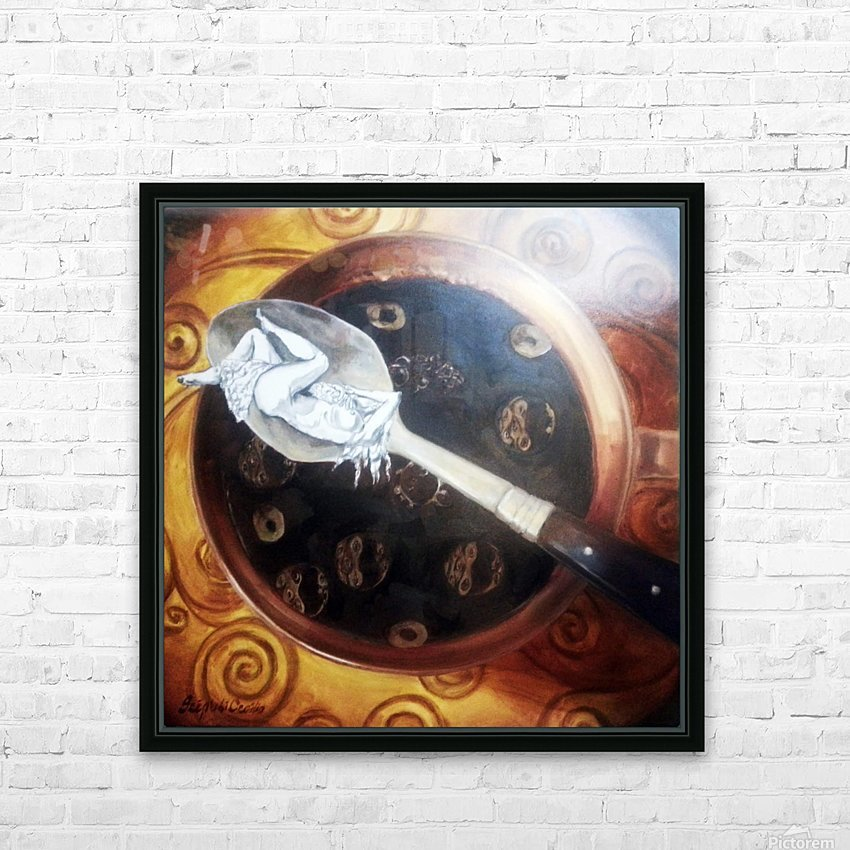 Premonition HD Sublimation Metal print with Decorating Float Frame (BOX)