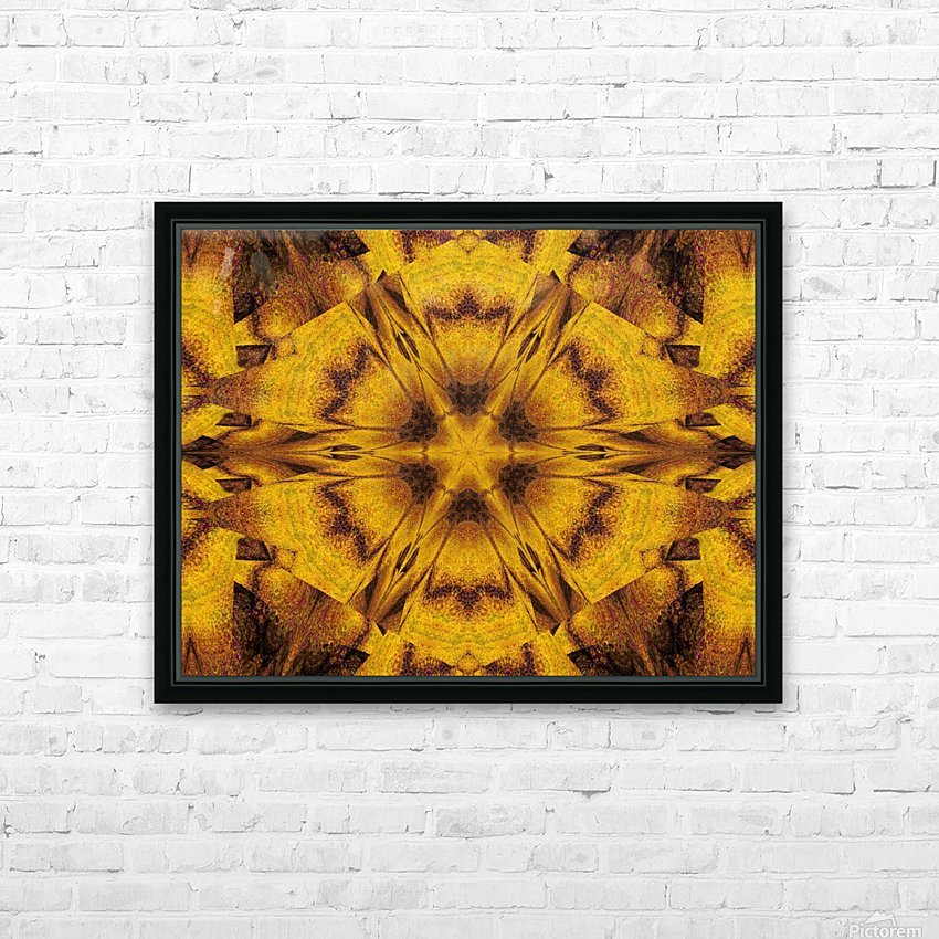 Spiritual Sunshine  39 HD Sublimation Metal print with Decorating Float Frame (BOX)