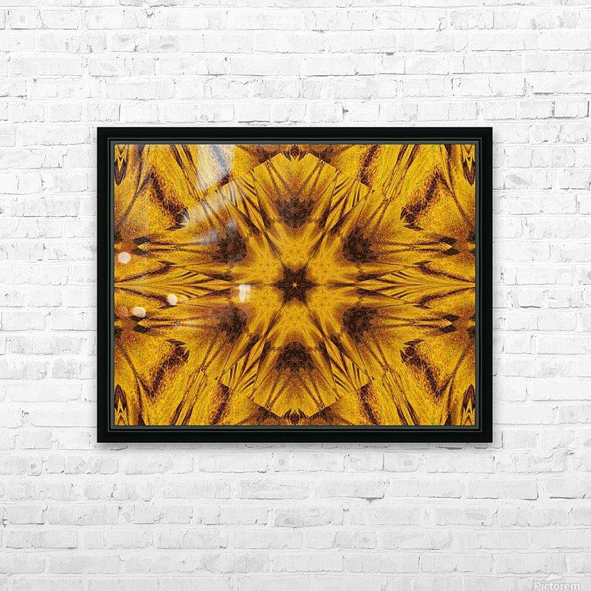 Spiritual Sunshine  42 HD Sublimation Metal print with Decorating Float Frame (BOX)